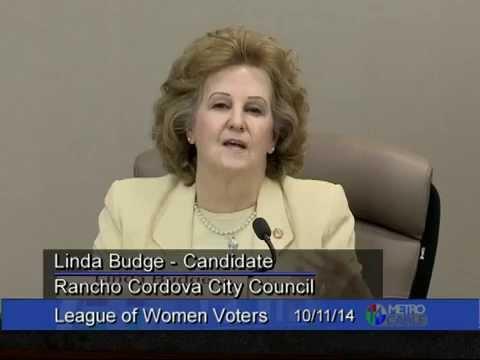 LWV Sacramento Election Forum - October 11, 2014 - Rancho Cordova