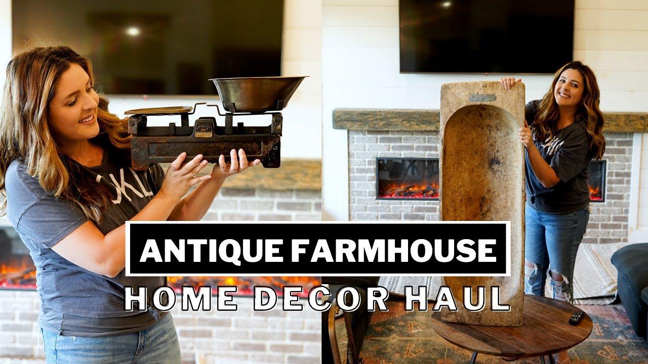 Huge Farmhouse Home Décor Haul