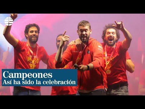 Así ha sido la celebración de la selección española