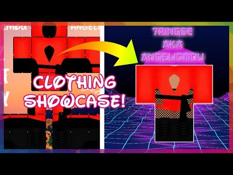 How To Put Clothing Into A Showcase Template Youtube