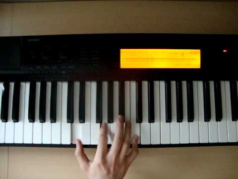 Csus2 - Piano Chords - How To Play - YouTube
