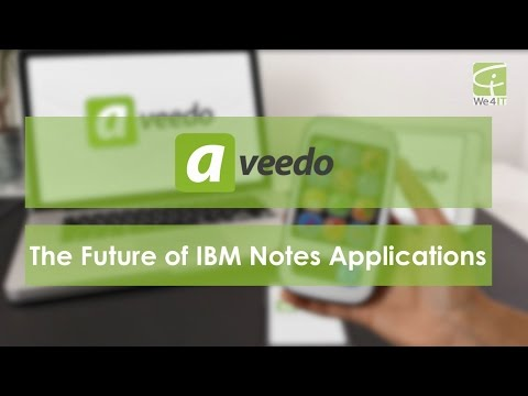 aveedo - The Future of IBM Notes Applications