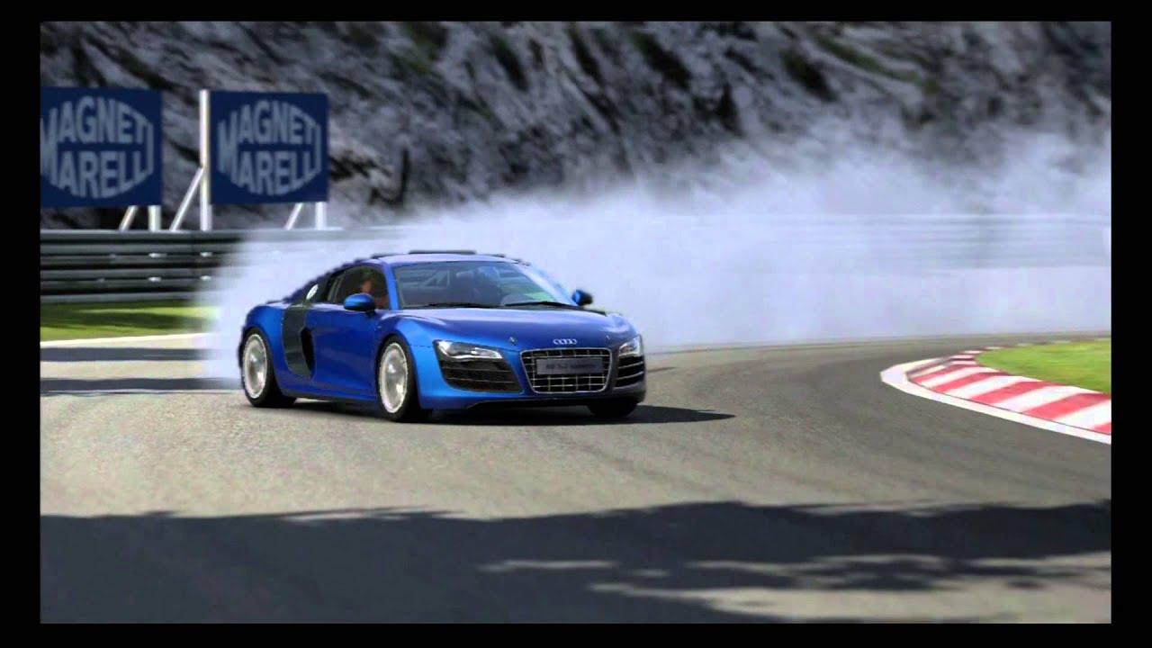Gran Turismo 5 Drift Audi R8 5 2 Fsi Quattro 09 Grand