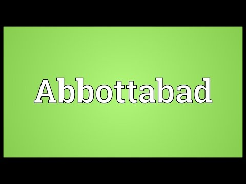 Abbottabad Meaning