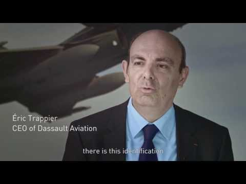 BR 03 RAFALE - Dassault Aviation CEO Eric Trappier Interview