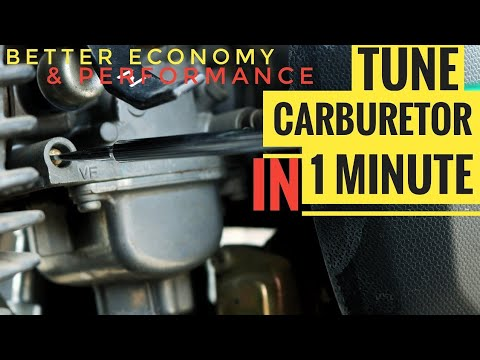 SUPER QUICK CARB TUNING FOR BEST MILEAGE & PICK UP | TVS APACHE RTR CARBURETOR CLEANING & ADJUSTMENT