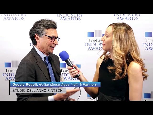 Duccio Regoli, Gattai Minoli Agostinelli & Partners - TopLegal Industry Awards 2019