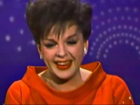 JUDY GARLAND: 'SOMEWHERE OVER THE RAINBOW' ON THE 'ANDY WILLIAMS SHOW.'  1965