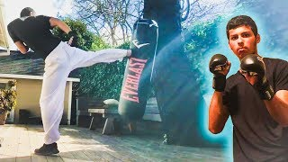 Luis (TurtleField) Fastest Punch Training | Fight Light Community