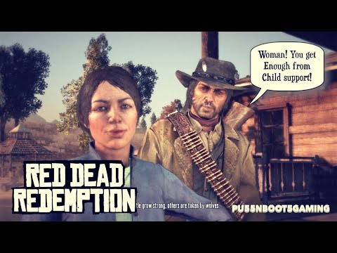 RED DEAD REDEMPTION GAMEPLAY #16 | MEET MY WIFE. SHE'S CRAZY!