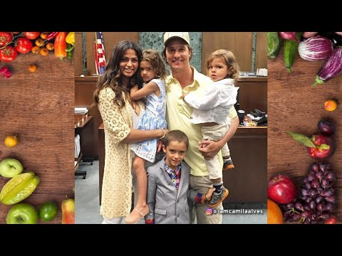 How Matthew McConaughey & Camila Alves Are Helping Kids Stay Healthy