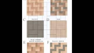 Dollhouse Flooring, Woodblock Floors