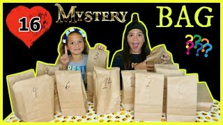 "16 MYSTERY BAGS "" DOLLAR TREE EDITION"" WHO HAS THE BEST BAGS ""SISTER FOREVER"""