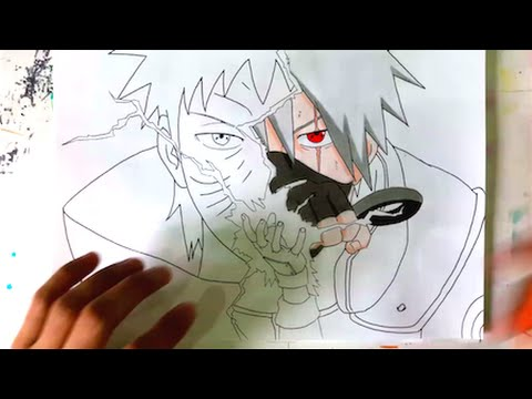 21 Tutorial How To Draw Kakashi With Video Tutorial