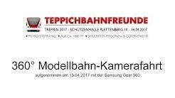 360° Kamerafahrt - Teppichbahntreffen Plettenberg (60fps)