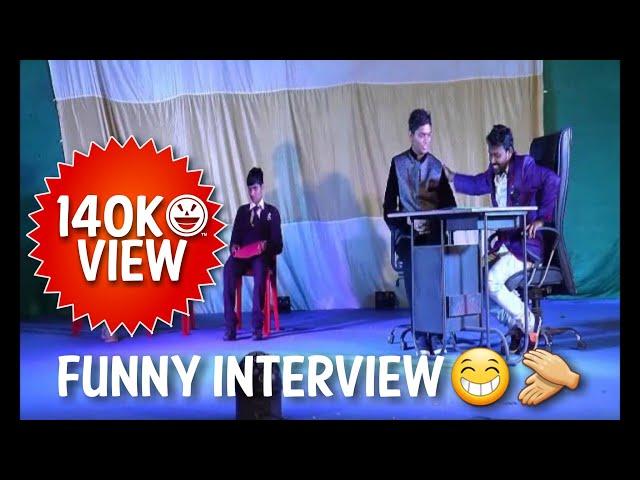 Gujrati drama Funny Interview