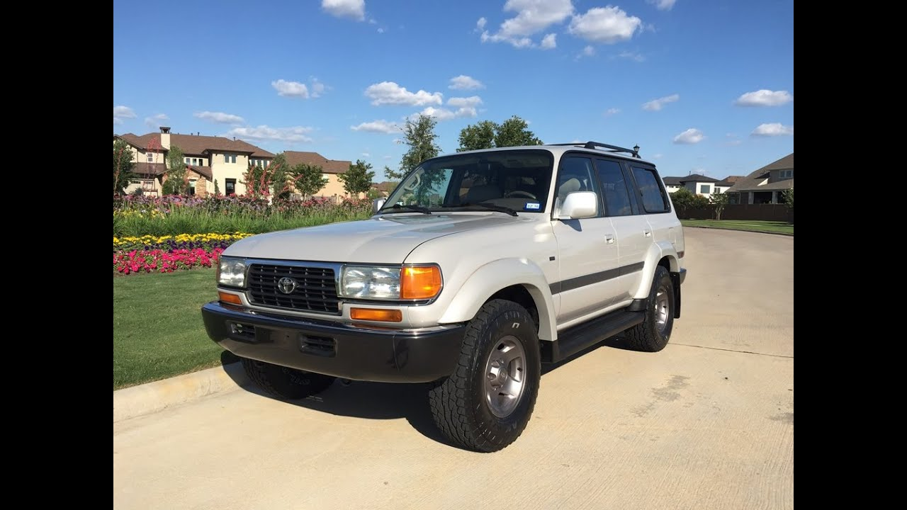 1997 Toyota Land Cruiser Collectors Edition FJ80 - SOLD ...