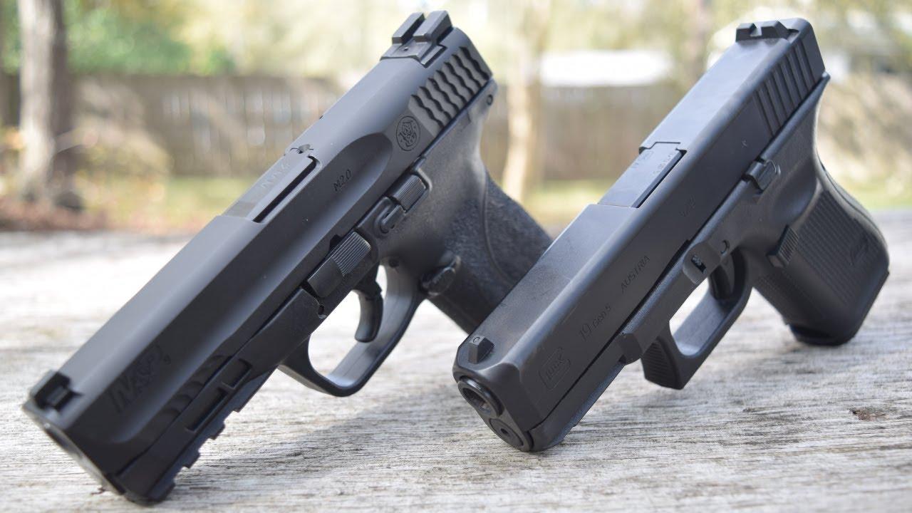 S&W M2.0 Compact Vs Gen 5 Glock 19...Your New Best Polymer Pistol Is???
