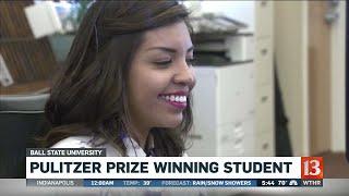Pulitzer Prize winning student at BSU