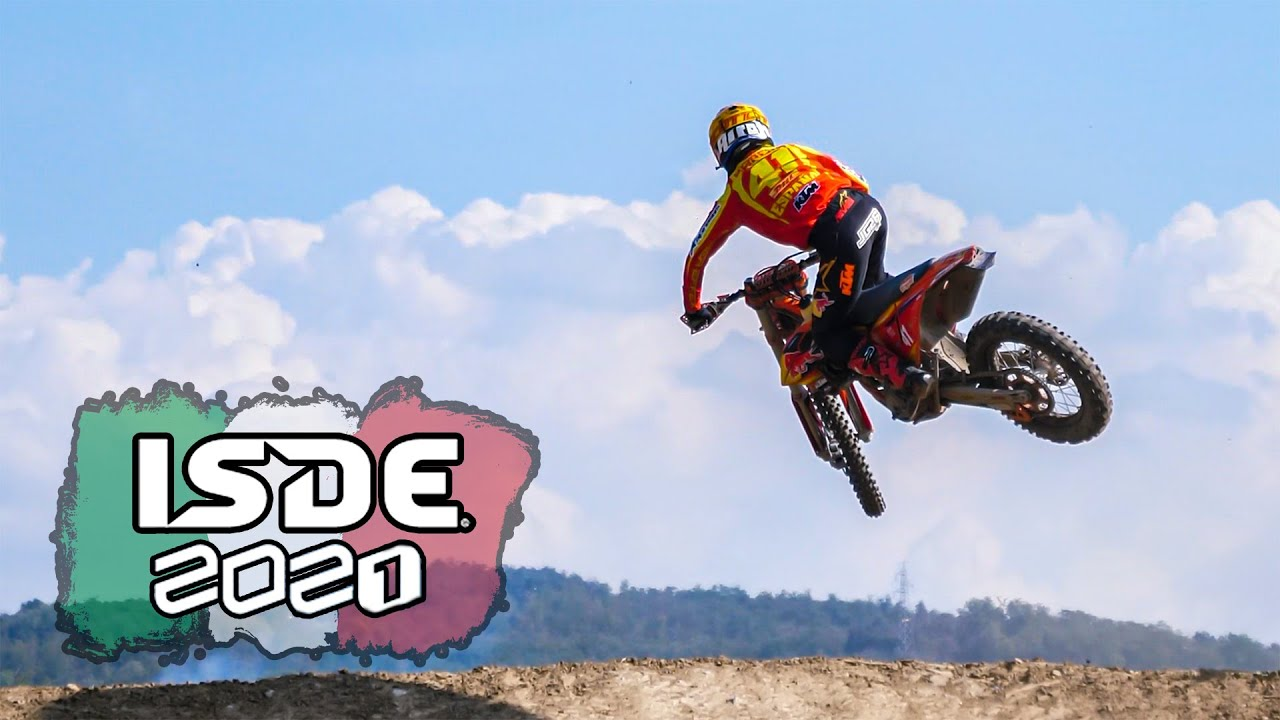 ISDE 2021 Italy   Day 6 Highlights   Motocross Actions
