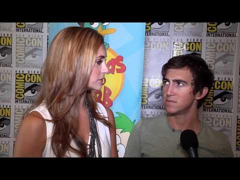 "Alyson Stoner & Vincent Martella Chat ""Phineas & Ferb"" at 2012 Comic-Con"