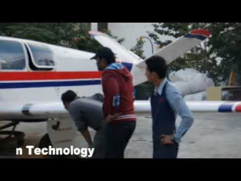 Aircraft Starting Videos Learjet 24D and Beech Bonanza - Pune Institute of Aviation Technology