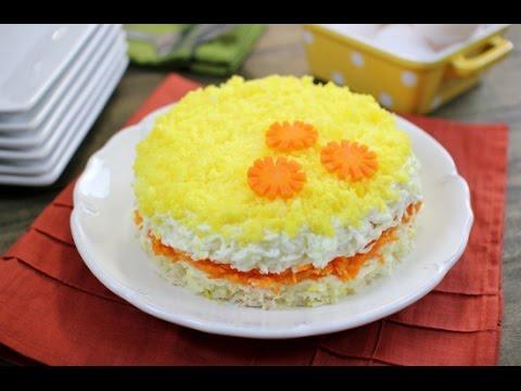 Mimoza Salat Resepti