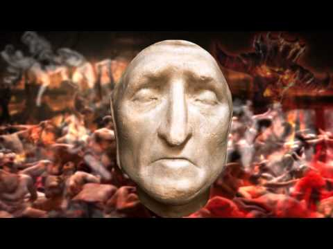 DEATH MASK of Dante Alighieri - 14th Century HELL - Inferno - after effects