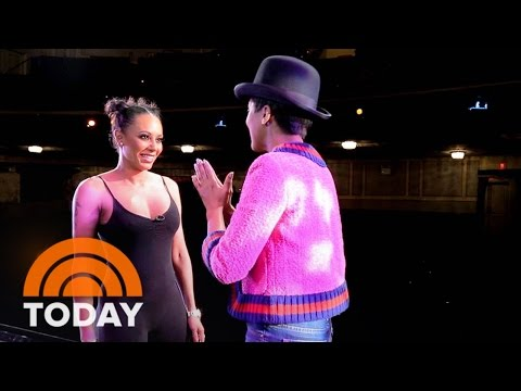 Tamron Hall Performs In 'Chicago' With Mel B, Dons Broadway Costume On Stage | TODAY