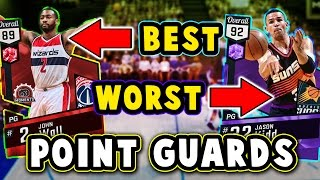 Top 5 best/worst value point guards in nba 2k17 myteam