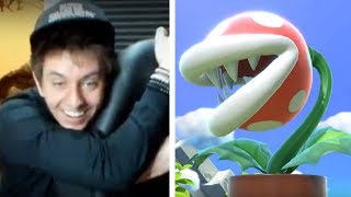 PIRANHA PLANT IN SMASH/WORLD OF LIGHT REACTION