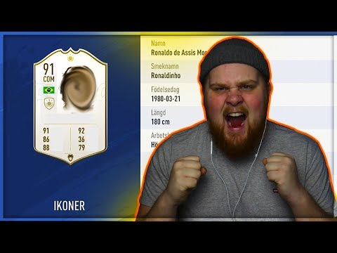 KÖPER EN NY ICON FÖR 3 MILJONER COINS!!! - FIFA 19 SVENSKA