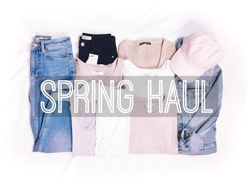 Spring TRY ON Haul // Brandy Melville,...
