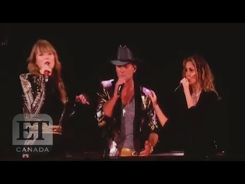 Taylor Swift, Tim McGraw, Faith Hill Sing 'Tim McGraw'