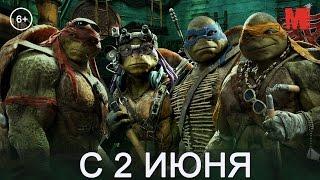 Дублированный трейлер фильма «Черепашки-ниндзя 2»