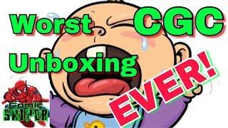 Worst CGC unboxing EVER!