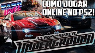 TUTORIAL PS2 - COMO JOGAR NEED FOR SPEED ONLINE EM 2018!