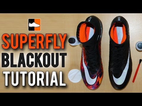 How To Black-Out Your Superfly Nike CR7 Mercurial Football Boots & Soccer Cleats
