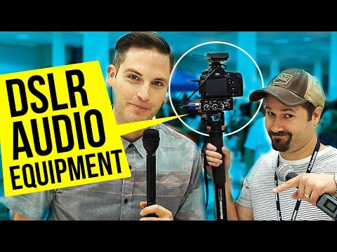 DSLR Audio Equipment For Interviews
