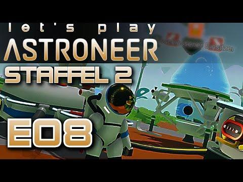 Spaceshuttle Astroneer Deutsch German Gameplay S2E08