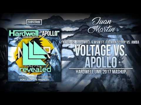 Voltage Vs. Don't Stop The Madness Vs. Apollo (Hardwell UMF 2017 Mashup)