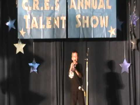 Forrest playing I've Got Rhythm (2nd grade, age 8) in the school talent show