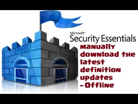 Latest definition updates for windows defender antivirus and other.
