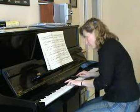 Sonata in C K. 330 W.A.Mozart 1st Mvt.