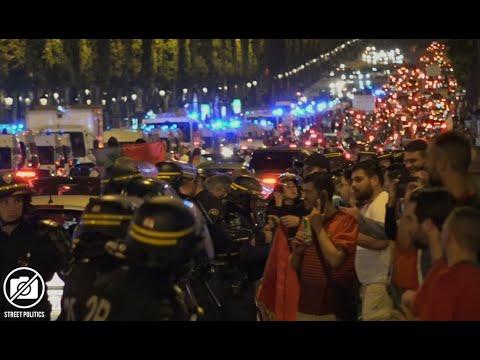 EURO - célébration de la victoire du Portugal aux Champs-Elysées à Paris - 07/07/16
