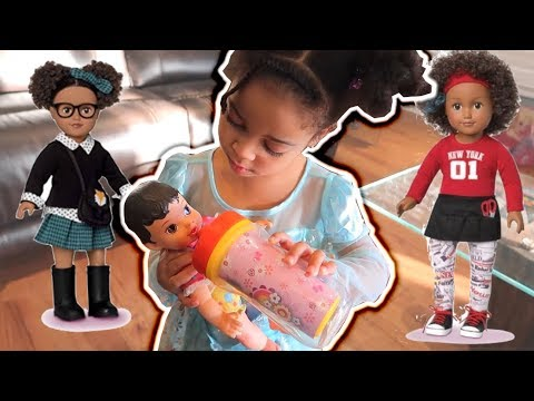 Cali Dresses Up as Elsa, Plays With My Life Doll