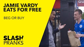 How much can Jamie Vardy get for free in Leicester? | Beg or Buy | Slash Football
