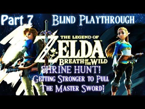[Switch]Legend of Zelda:Breath of the Wild[Blind][Part 7] Shrine Hunt! Live stream Archive