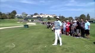 Bubba Watson and fan at Riviera
