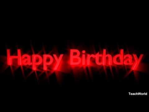 Short and Sweet Happy Birthday